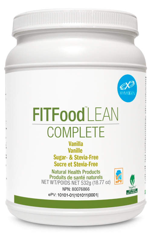 FIT Food Lean Complete Vanilla Sugar & Stevia Free